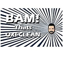 Billy Mays - Oxi Clean Photographic Print