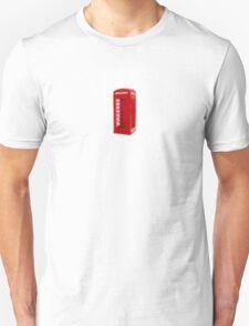 Red Frame, White Light Unisex T-Shirt