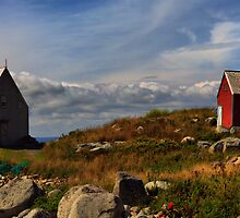 Peggy's Cove Buildings by kenmo
