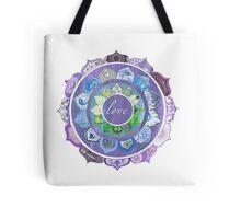 Positive Intentions Lotus Mandala Tote Bag