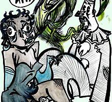 HI DEE HII! by krakens-ink