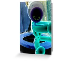 knock please Greeting Card
