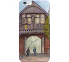 Historic Wooden Gate in Bruges (Brugge), Belgium iPhone Case/Skin