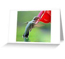 Little Friend Greeting Card