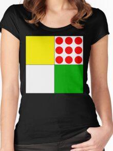 Tour de France Jerseys Women's Fitted Scoop T-Shirt