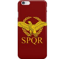 SPQR iPhone Case/Skin
