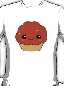 Cute Kawaii Chocolate Cupcake T-Shirt