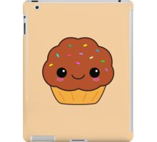 Cute Kawaii Chocolate Cupcake iPad Case/Skin