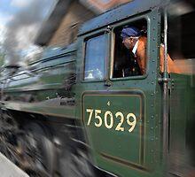 Express through Grosmont by WhartonWizard