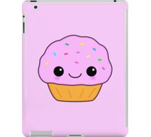 Cute Pink Kawaii Cupcake iPad Case/Skin
