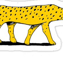 The Cheetah Sticker