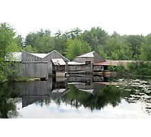 The Old Saw Mill Photographic Print