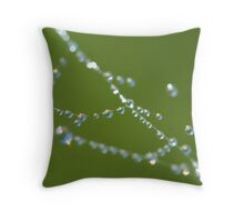 World on a string... Throw Pillow