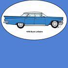 '59 Buick LeSabre Cobalt Blue by Sharon K