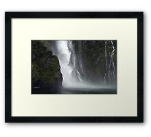 In the Hall of the Mountain King- Magic Framed Print