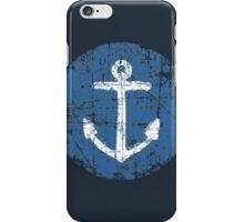 Anchor Sign Vintage Navy iPhone Case/Skin
