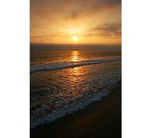 Manhattan Beach Sunset Photographic Print