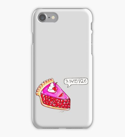 Cherry Pie Pi iPhone Case/Skin