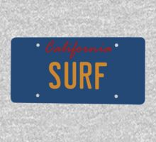 California Surf plate - Inspired by KITT by 2monthsoff