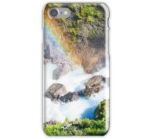 Wild River Rainbow in Austria iPhone Case/Skin