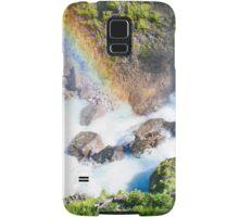 Wild River Rainbow in Austria Samsung Galaxy Case/Skin