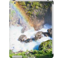Wild River Rainbow in Austria iPad Case/Skin