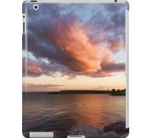 Colorful Summer Sunset - Lake Ontario Impressions iPad Case/Skin