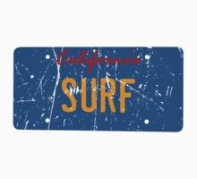 California surf plate - Distressed version One Piece - Short Sleeve