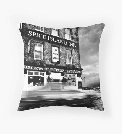 Spice Island Inn Throw Pillow