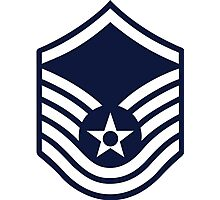 Air Force E-7 Master Sergeant Photographic Print