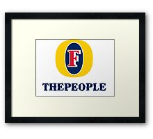 Foster the people. Framed Print