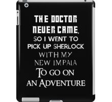 Clash of fandoms iPad Case/Skin