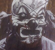 Shawn 'The Clown' Crahan of Slipknot by Smogmonkey