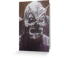 Shawn 'The Clown' Crahan of Slipknot Greeting Card