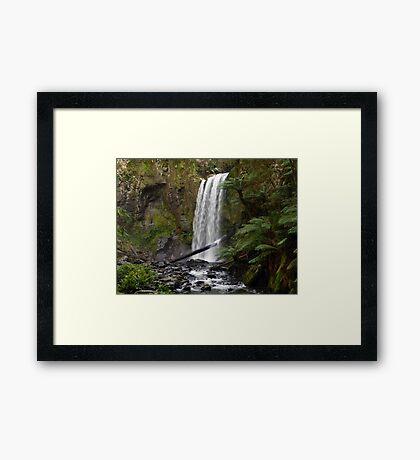 Hopetoun Falls Landscape Framed Print
