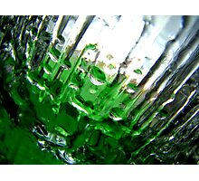 Green Ice I Photographic Print