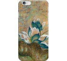 """""""The Turquoise Incarnation"""" from the series """"In the Lotus Land"""" iPhone Case/Skin"""
