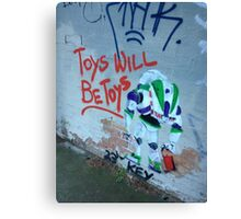 Toys Will Be Toys Canvas Print