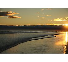 South Pacific Beach Sunset Photographic Print
