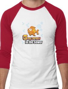 Limited Edition: Goldfish in the Sewer - fan products! Men's Baseball ¾ T-Shirt