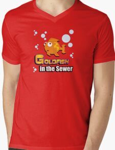 Limited Edition: Goldfish in the Sewer - fan products! Mens V-Neck T-Shirt