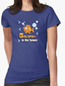 Limited Edition: Goldfish in the Sewer - fan products! Womens Fitted T-Shirt