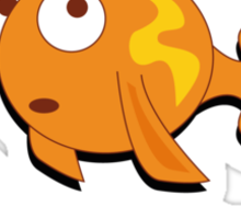 Limited Edition: Goldfish in the Sewer - fan products! Sticker