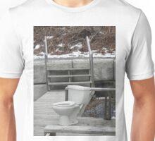 True Meaning of 'Public' Toilet  Unisex T-Shirt