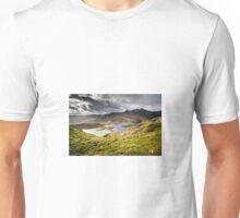 Miners Track Landscape, Mt Snowdon Unisex T-Shirt