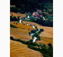 Tuscany Small Road Landscape (Italy) Unisex T-Shirt
