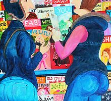 Browsing In Smiths by Hannah Dosanjh