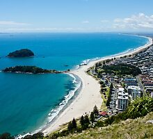 View from Mt Maunganui 1 by AKunde