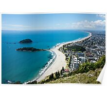 View from Mt Maunganui 1 Poster