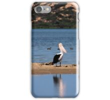Pelicans, Coorong NP iPhone Case/Skin